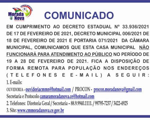 Portaria 071/2021