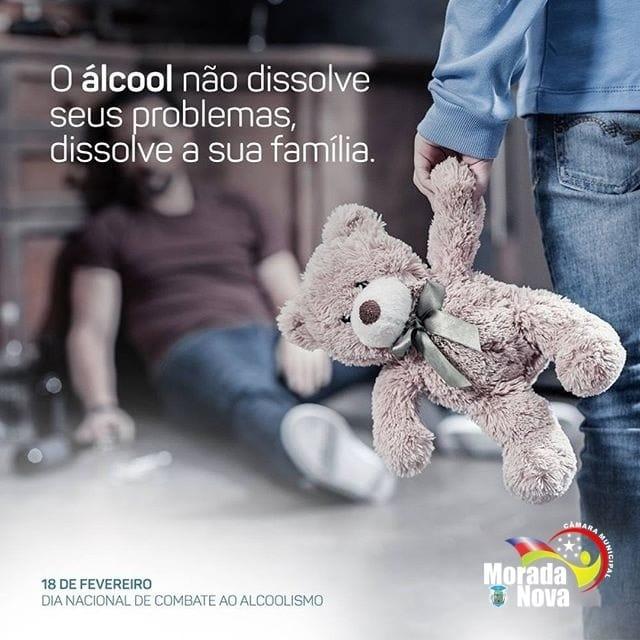 18 de Fevereiro – Dia mundial de combate ao alcoolismo