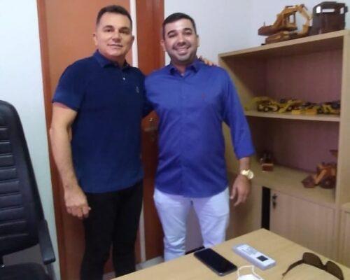 Presidente Marquinho da ana se reúne com o prefeito Vanderley Nogueira