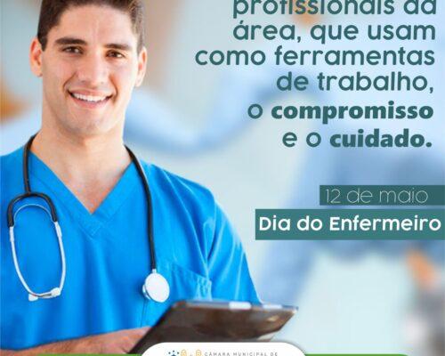 12 de Maio – Dia Mundial do Enfermeiro(a)