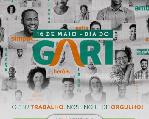16 de Maio: Dia do Gari