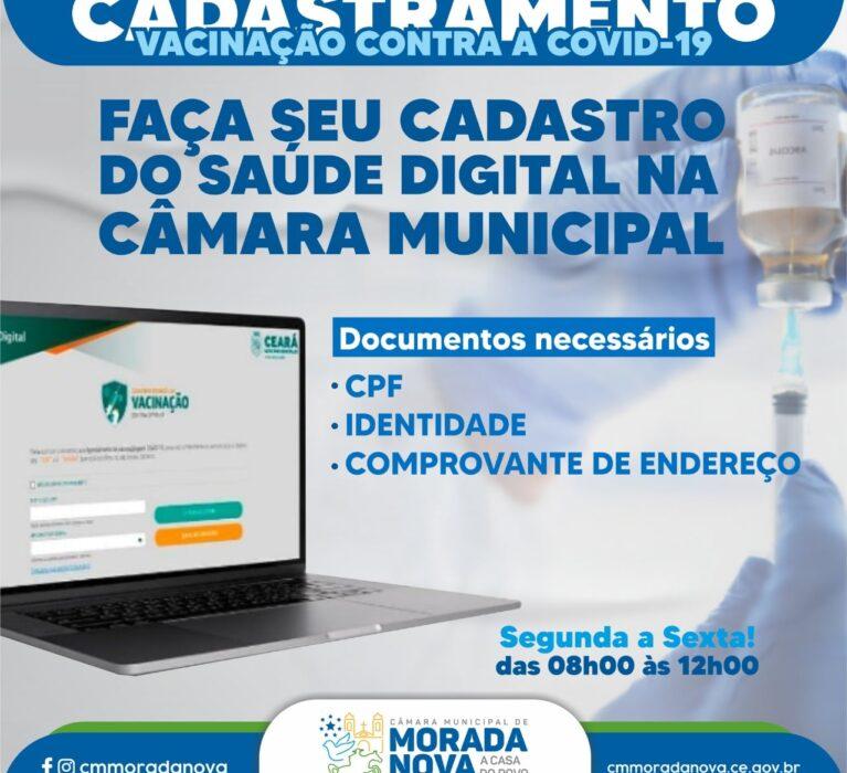 Cadastro do Saúde Digital