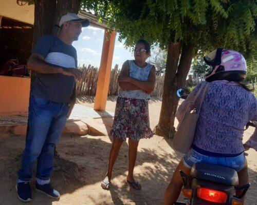 Vereador Neném do Dourado trabalhando em prol da coletividade