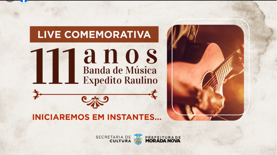 Live Comemorativa 111 anos da Banda Expedito Raulino